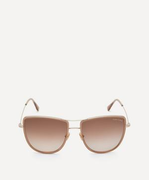 Half-Moon Pilot Sunglasses