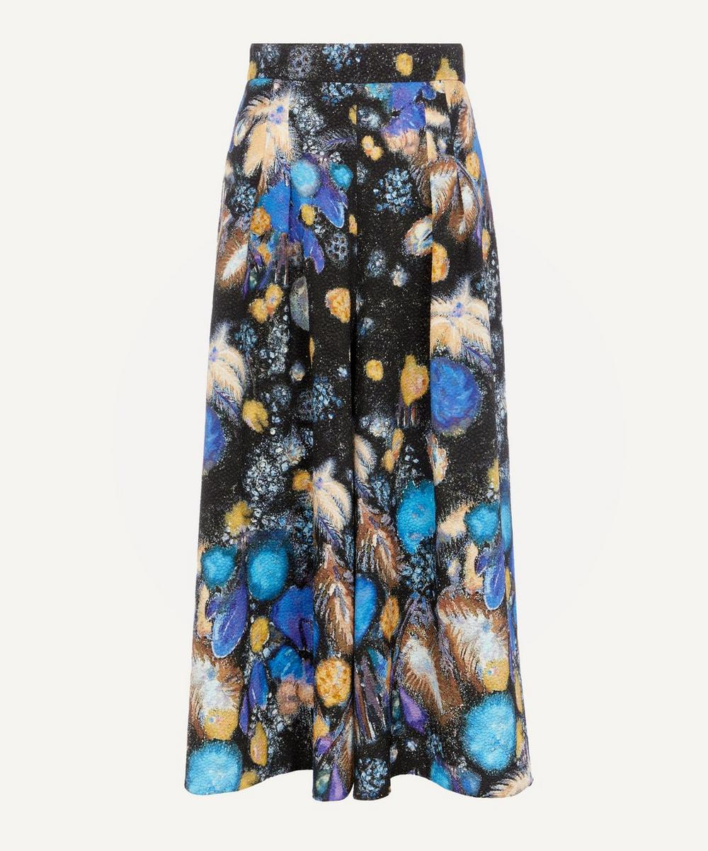 Peter Pilotto - Fireworks Print Waffle Culottes