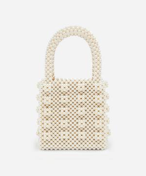 Antonia Faux Pearl Beaded Handbag