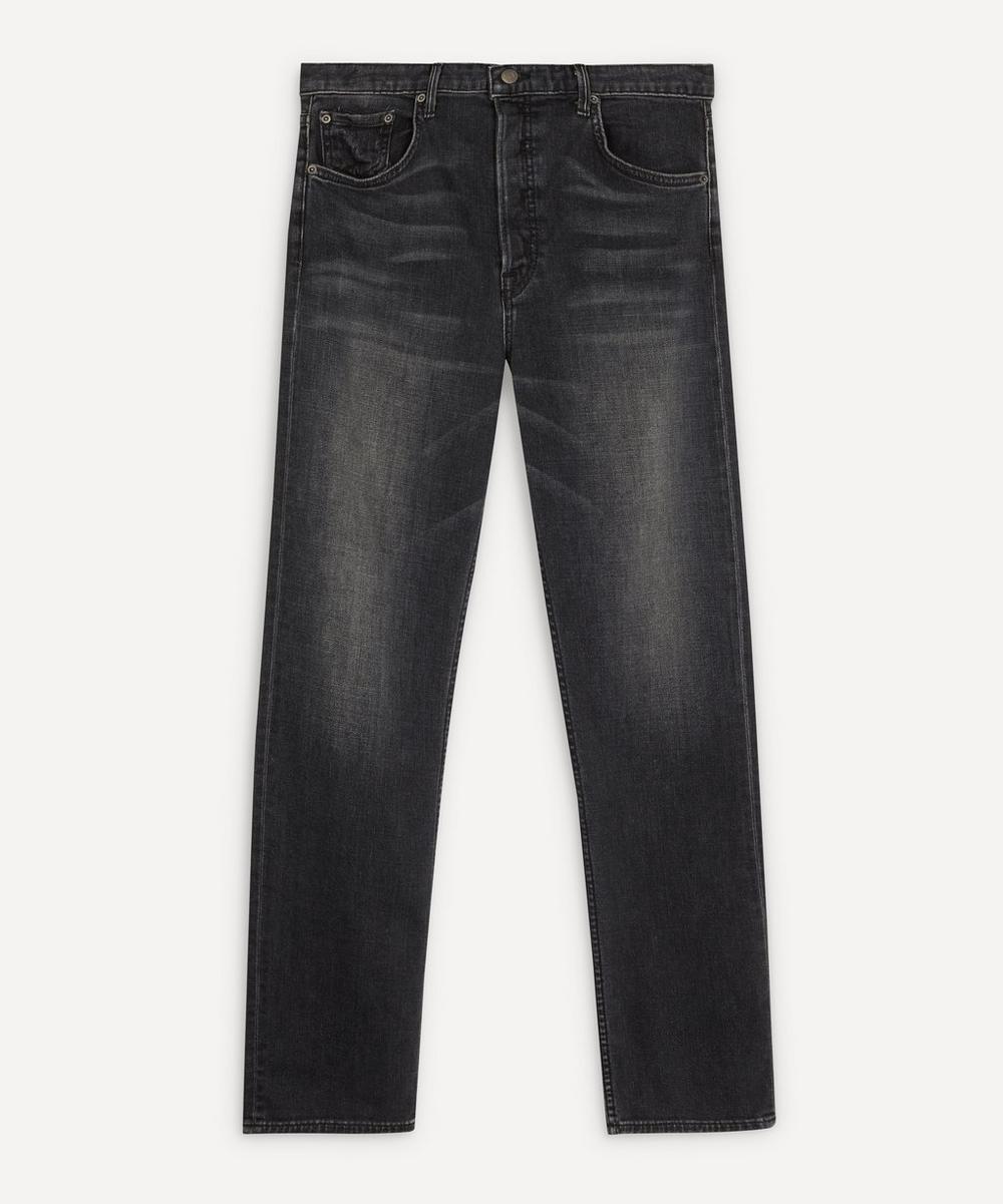 GRLFRND - Helena High-Rise Straight-Leg Jeans