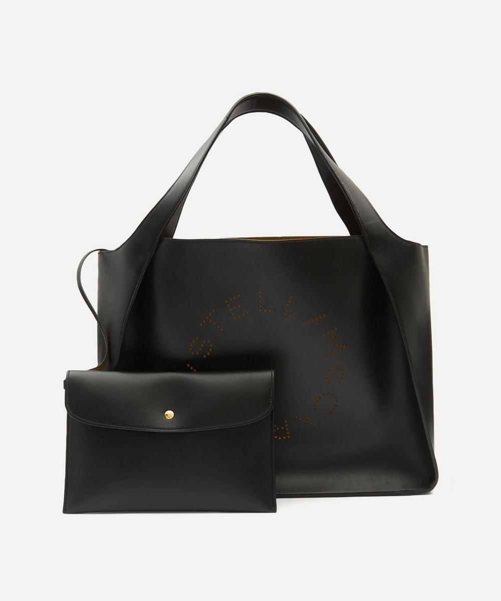 Stella McCartney - Perforated Logo Tote Bag