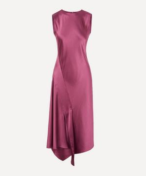 Vanessa Satin Midi-Dress