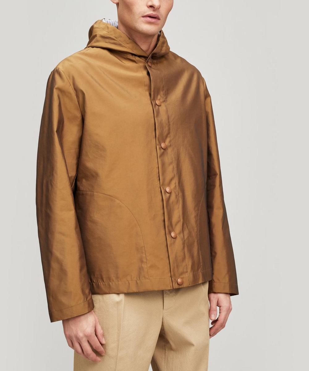 Barena - Caroman Hooded Wool Overshirt Jacket