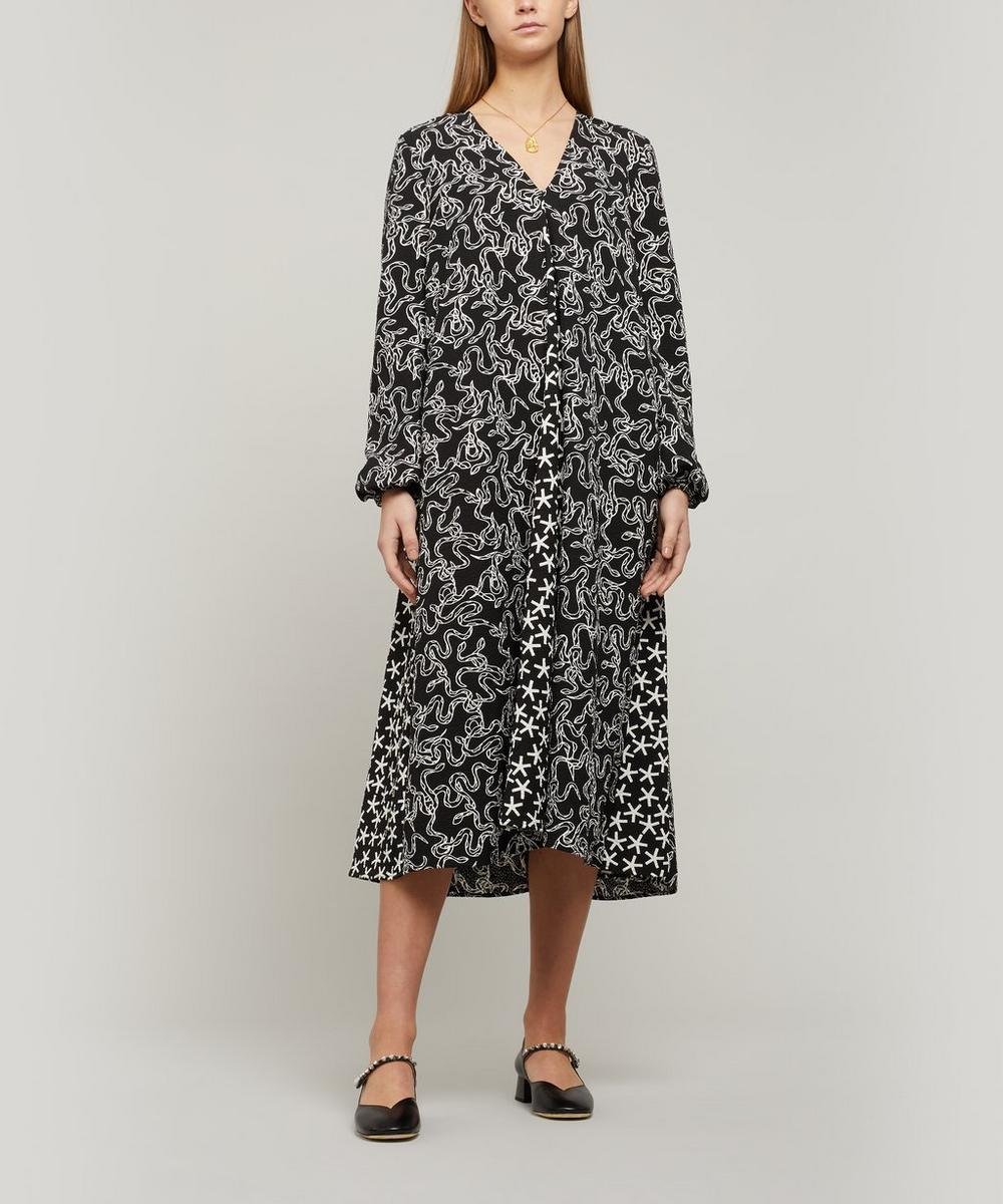 Stine Goya - Leila Structure Stretch Midi-Dress