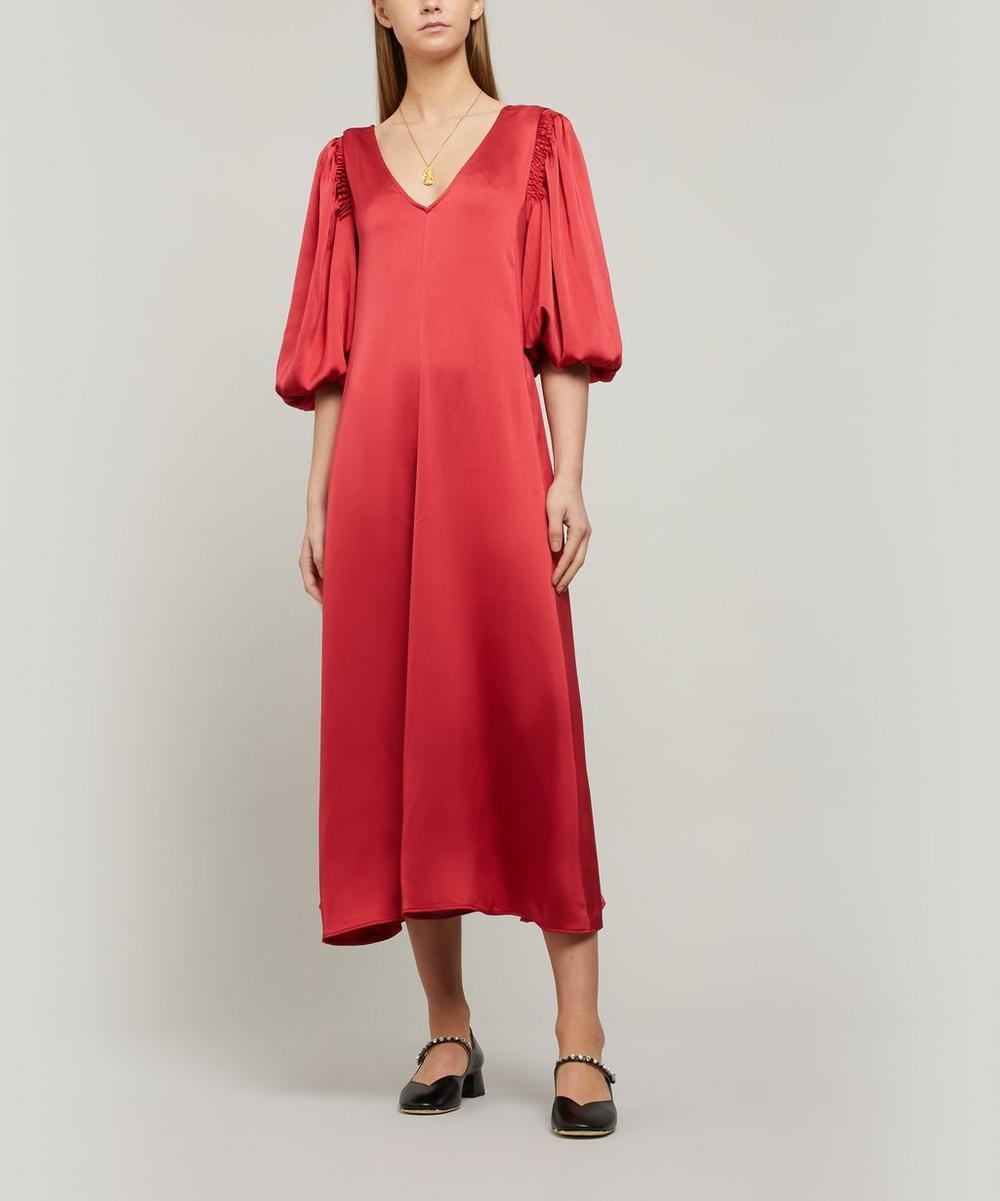 Stine Goya - Marlen Sheen Cady Midi-Dress