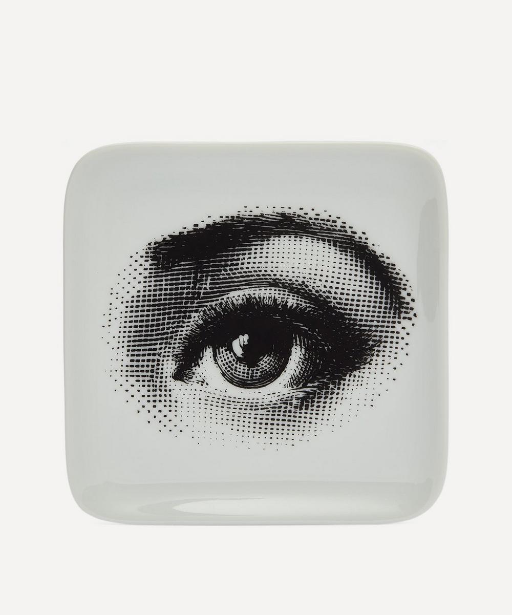 Fornasetti - Quadrato Occhio Square Decorative Tray