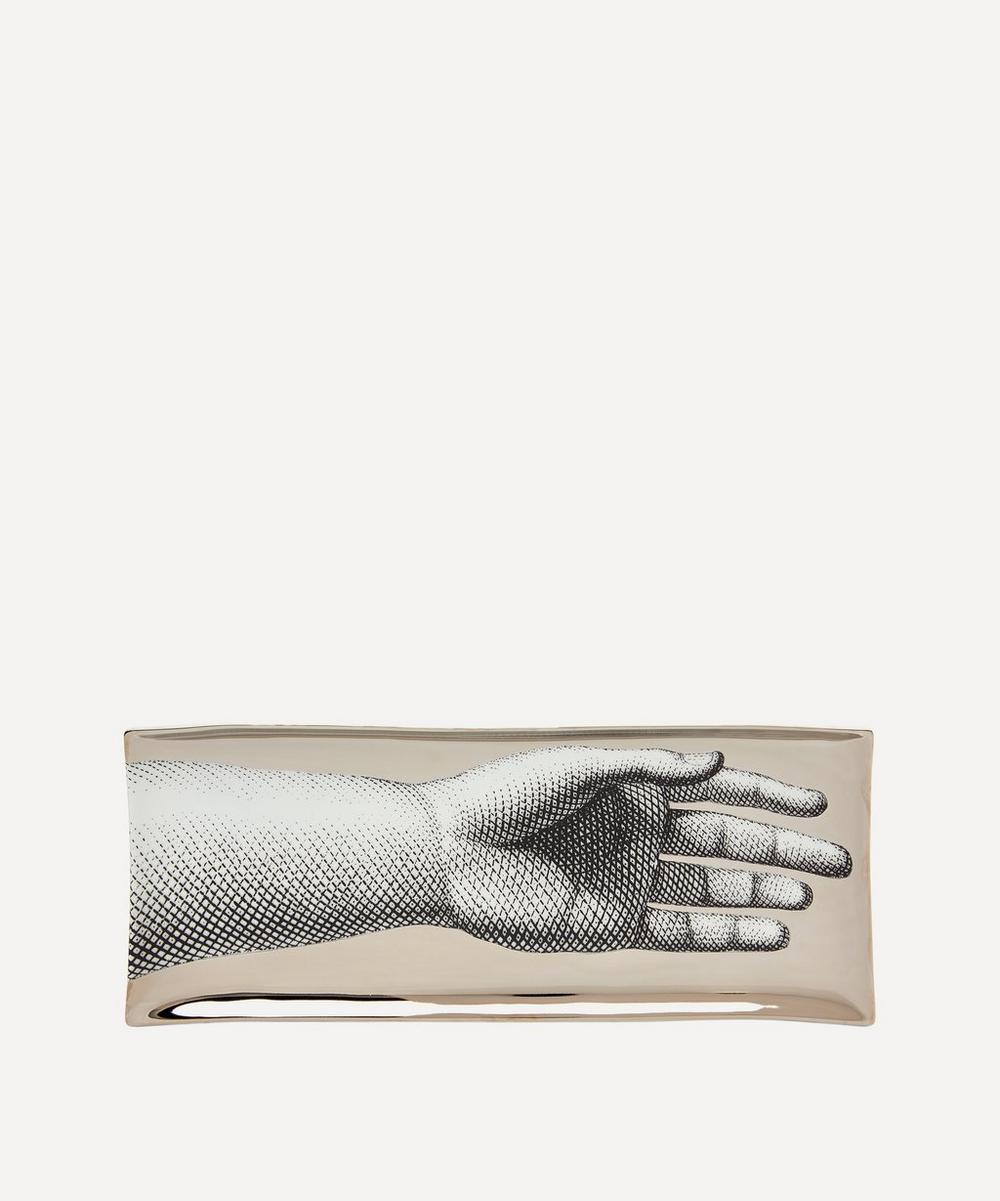 Fornasetti - Mano Rectangular Decorative Tray