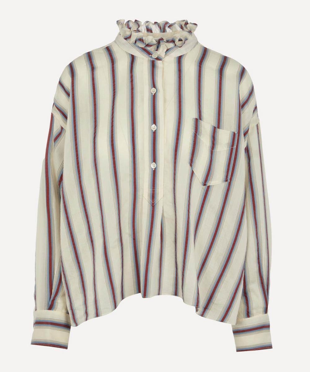 Isabel Marant Étoile - Olena Ruffle Neck Shirt