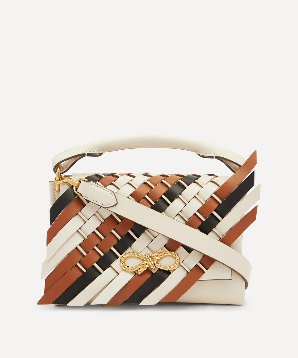 Anya Hindmarch - Rope Bow Mini Leather Cross-Body Bag