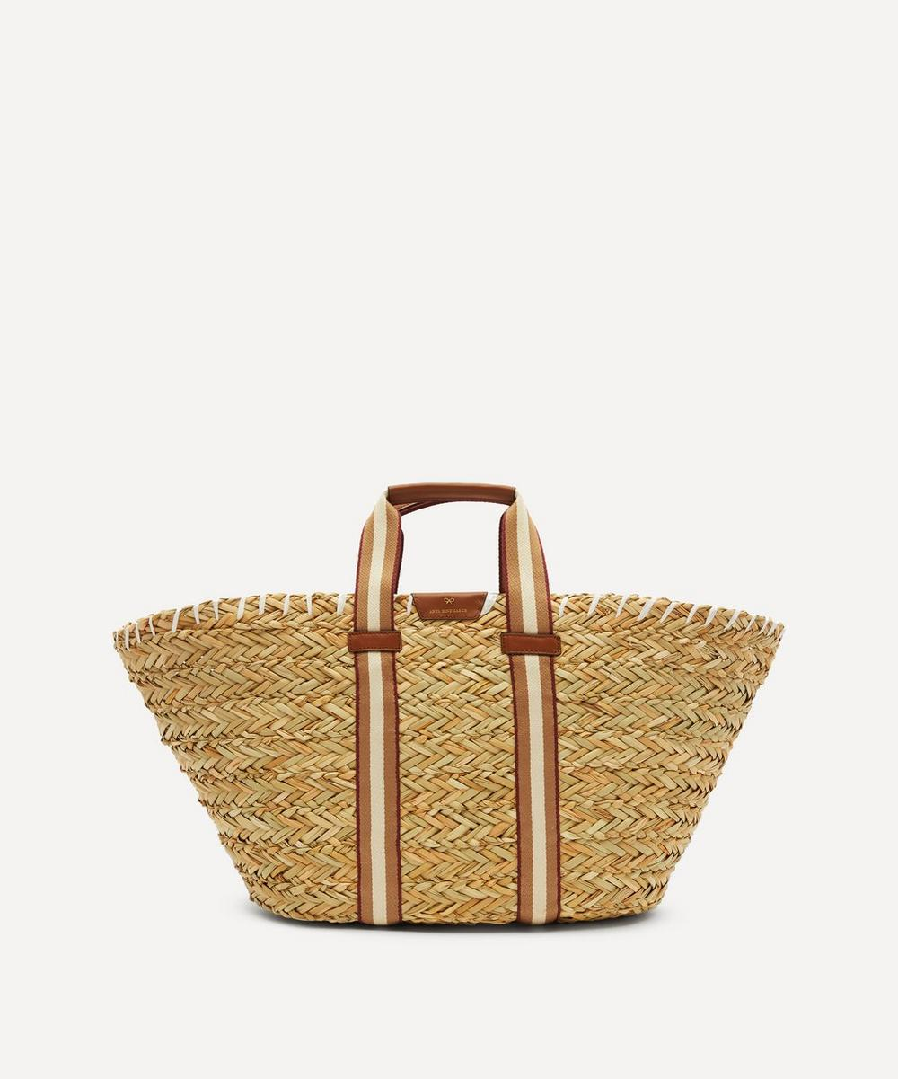 Anya Hindmarch - Large Walton Seagrass Basket Bag