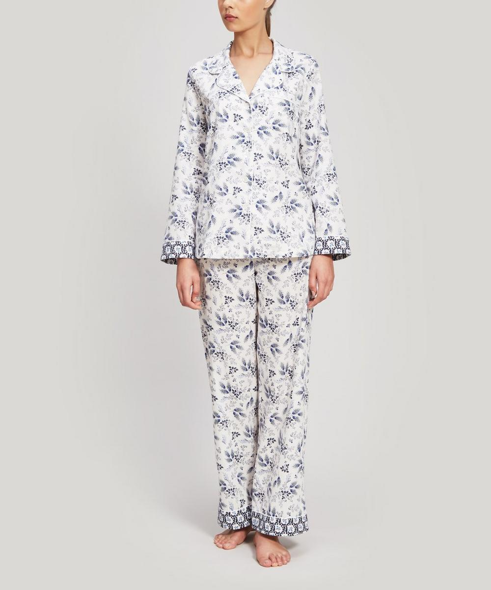 Liberty - Dorothea and Eleonora Brushed Cotton Pyjama Set