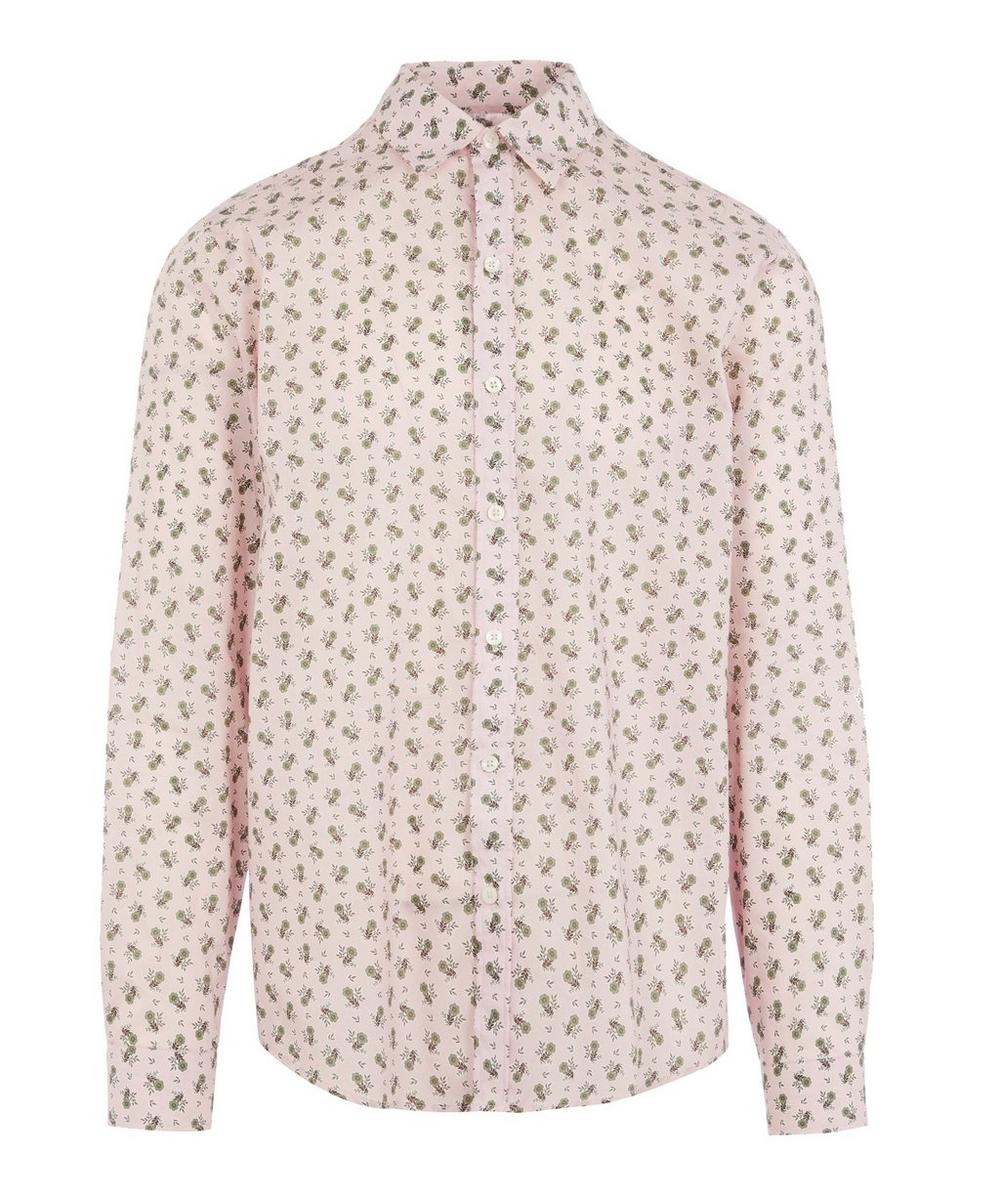 Liberty - Poppy Florence Tana Lawn™ Cotton Lasenby Shirt