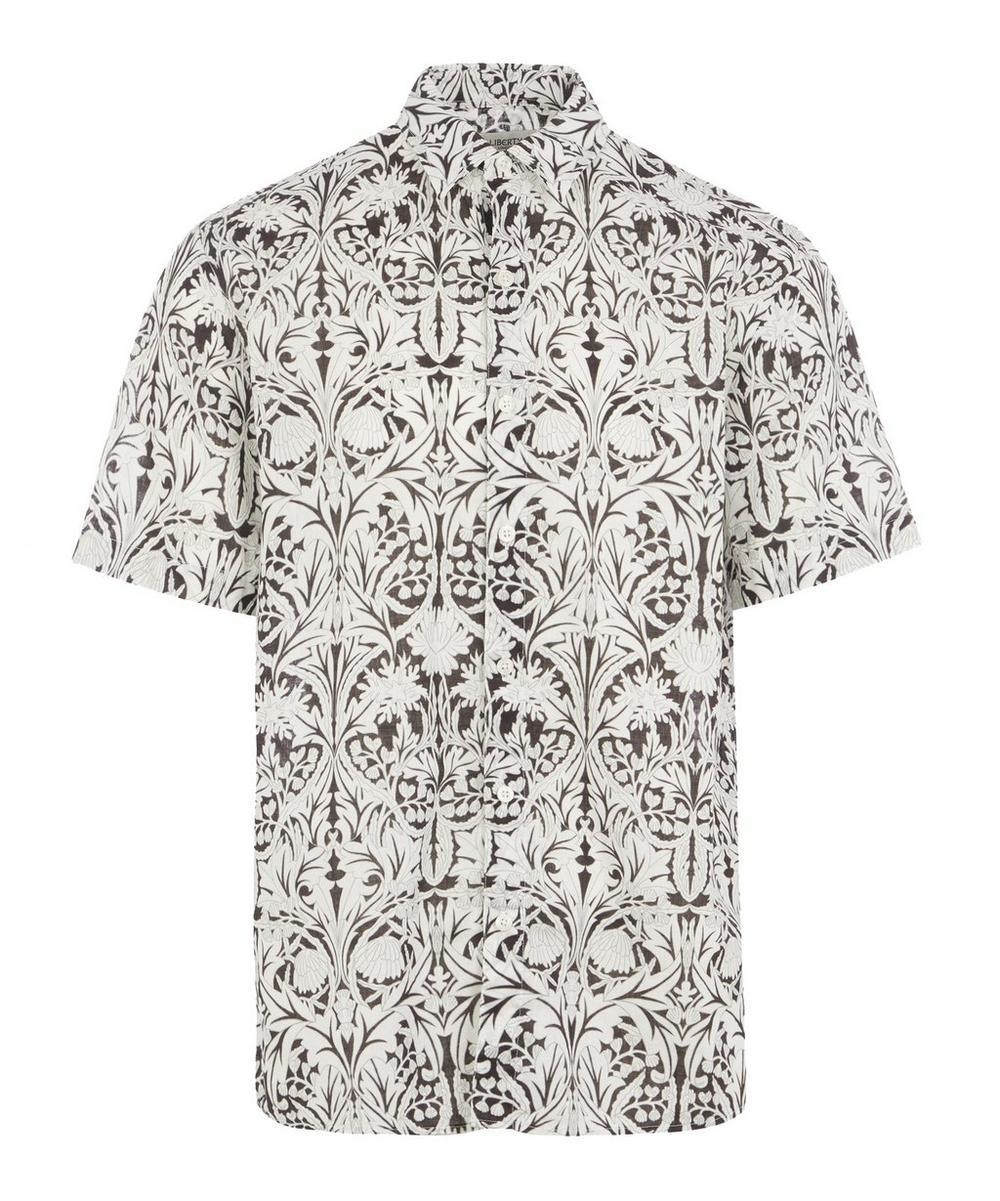 Liberty - May Linen-Blend Short-Sleeved Lasenby Shirt