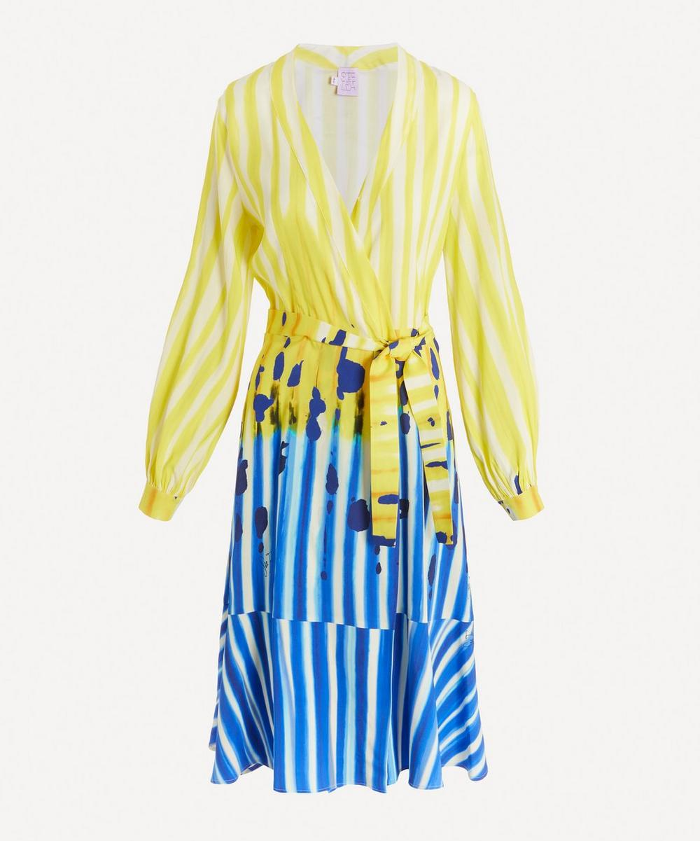 Stella Jean - V-Neck Wrap Dress