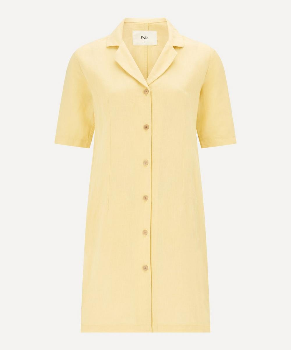 Folk - Soft Collar Mini-Dress