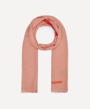 Two-Tone Ombre Scarf