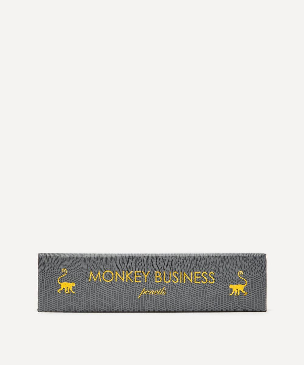 Sloane Stationery -  Monkey Business Pencils Set of Ten