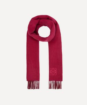 Two-Tone Cashmere-Blend Anagram Scarf