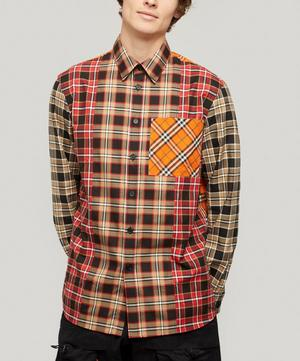 Timber Contrast Check Shirt