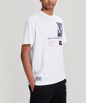 Winans Montage Print Cotton T-Shirt