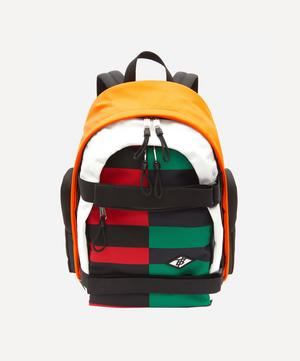Large Colour-Block ECONYL Nevis Backpack
