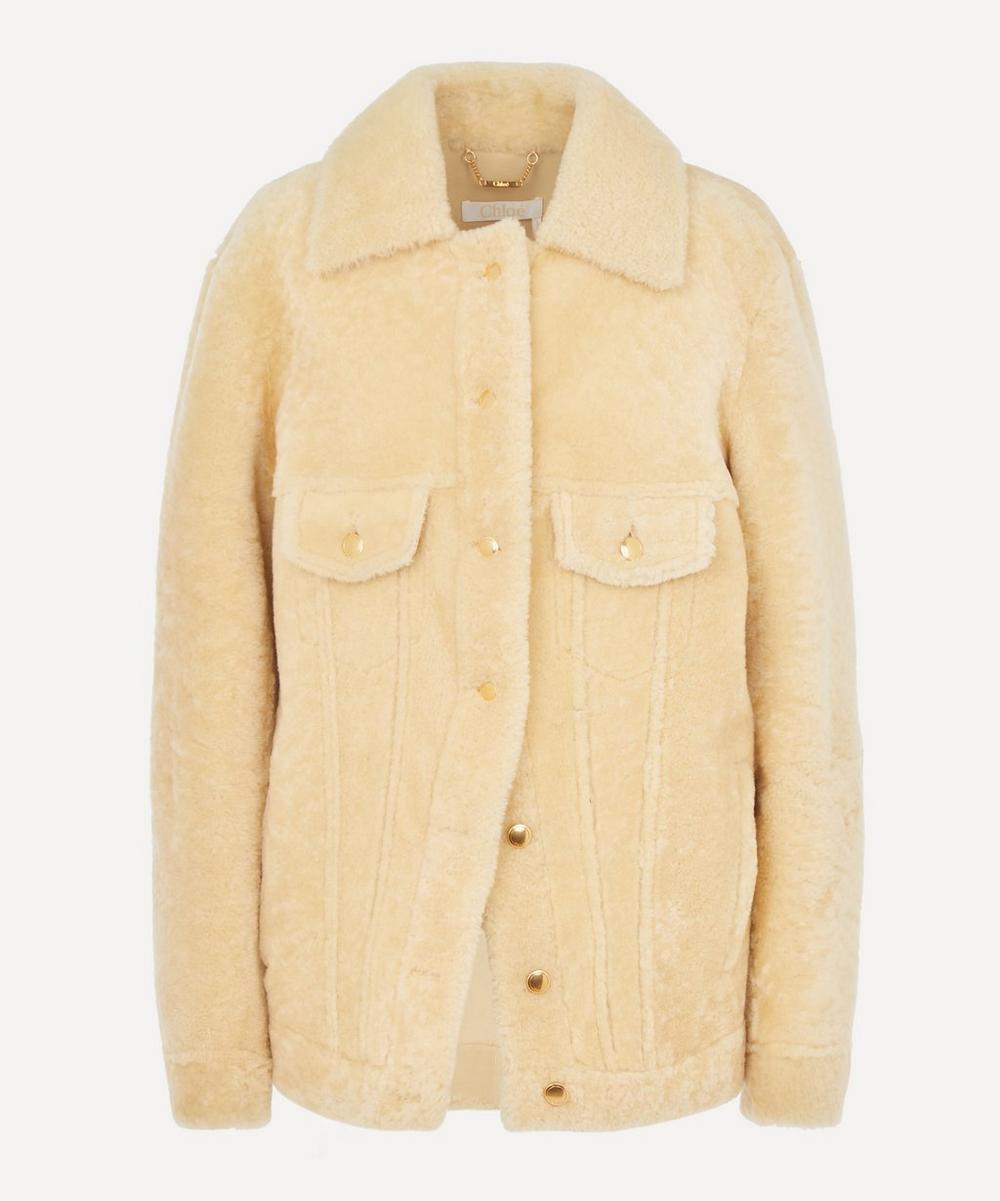 Chloé - Soft Shearling Leather Jacket