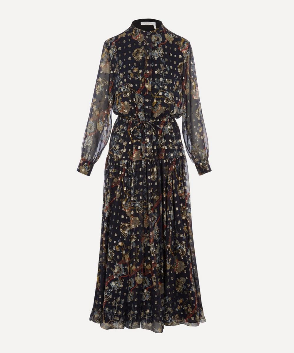 Chloé - Printed Flou Dress
