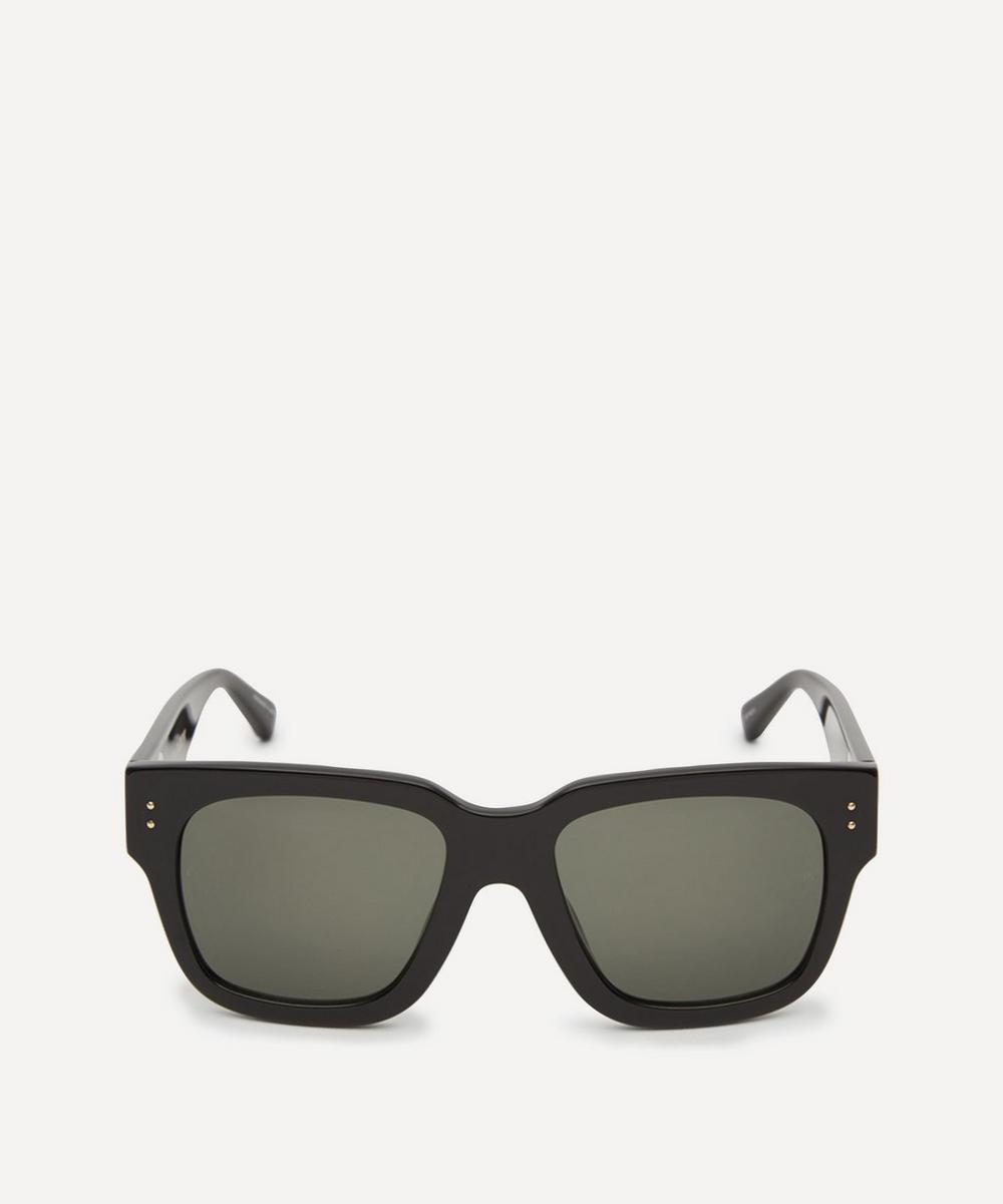 Linda Farrow - Amber D-Frame Acetate Sunglasses