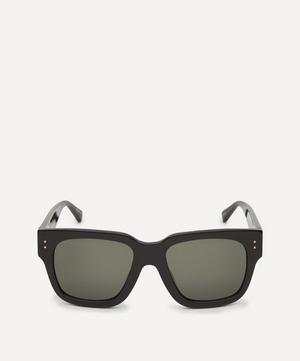 Amber D-Frame Acetate Sunglasses