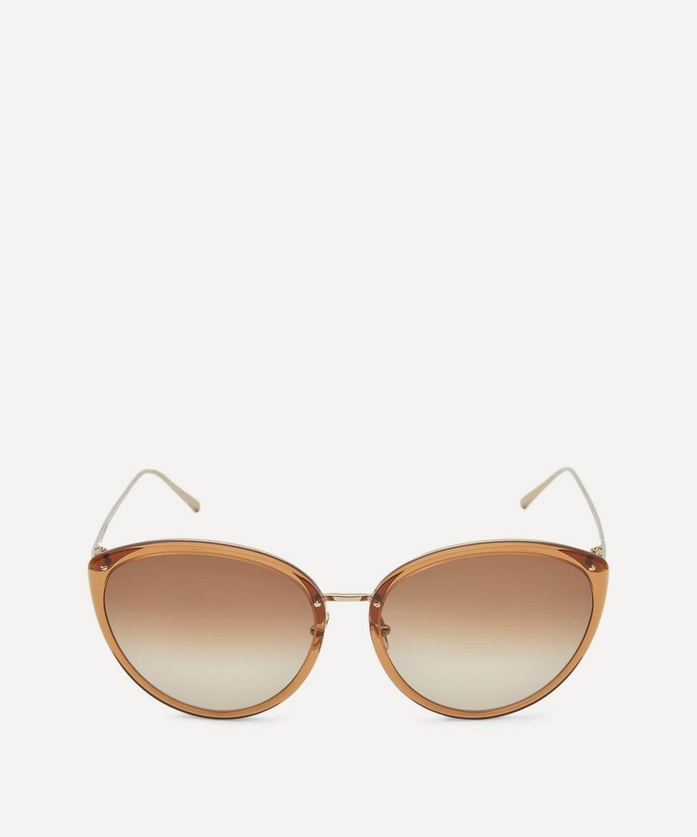 Linda Farrow - Angelica Cat-Eye Sunglasses