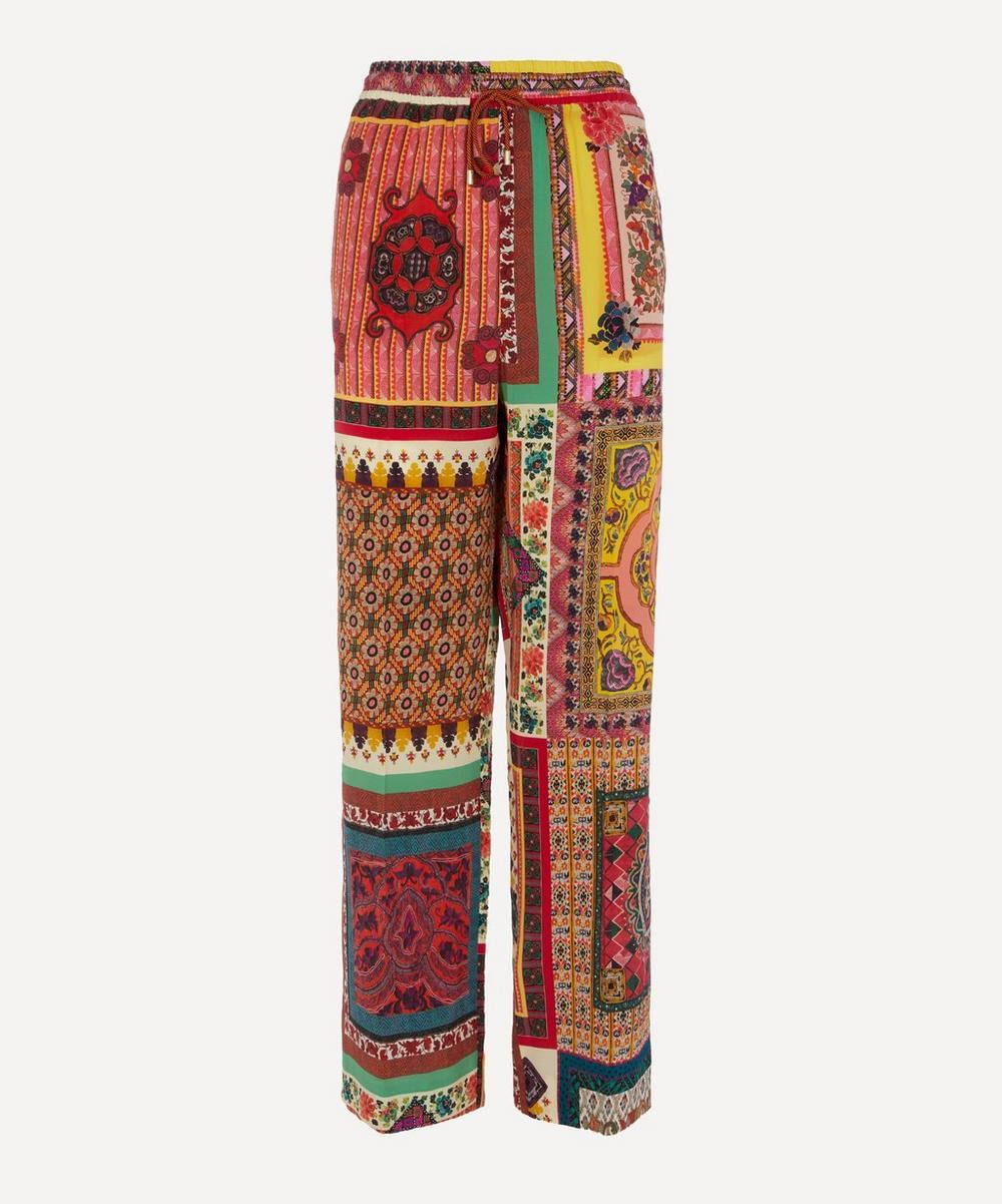 Etro - Tile Print Trousers