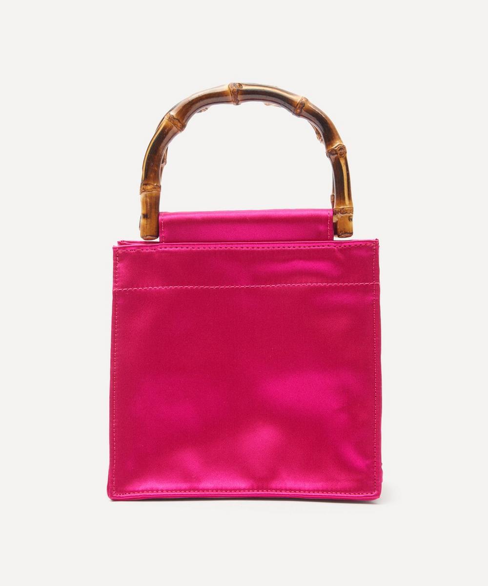 Hai - Bamboo Handle Silk Bag