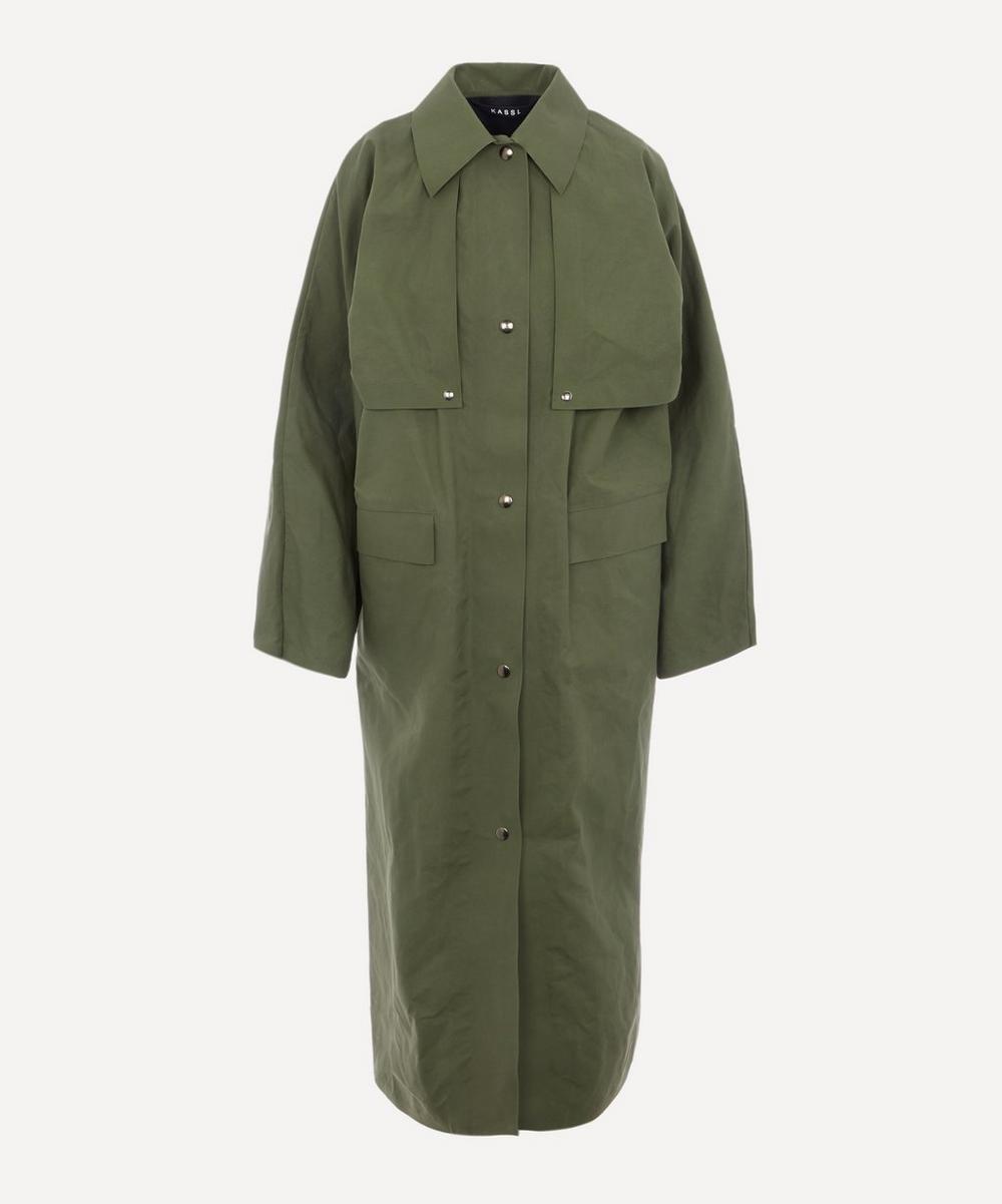 KASSL Editions - Long Waxed Coat