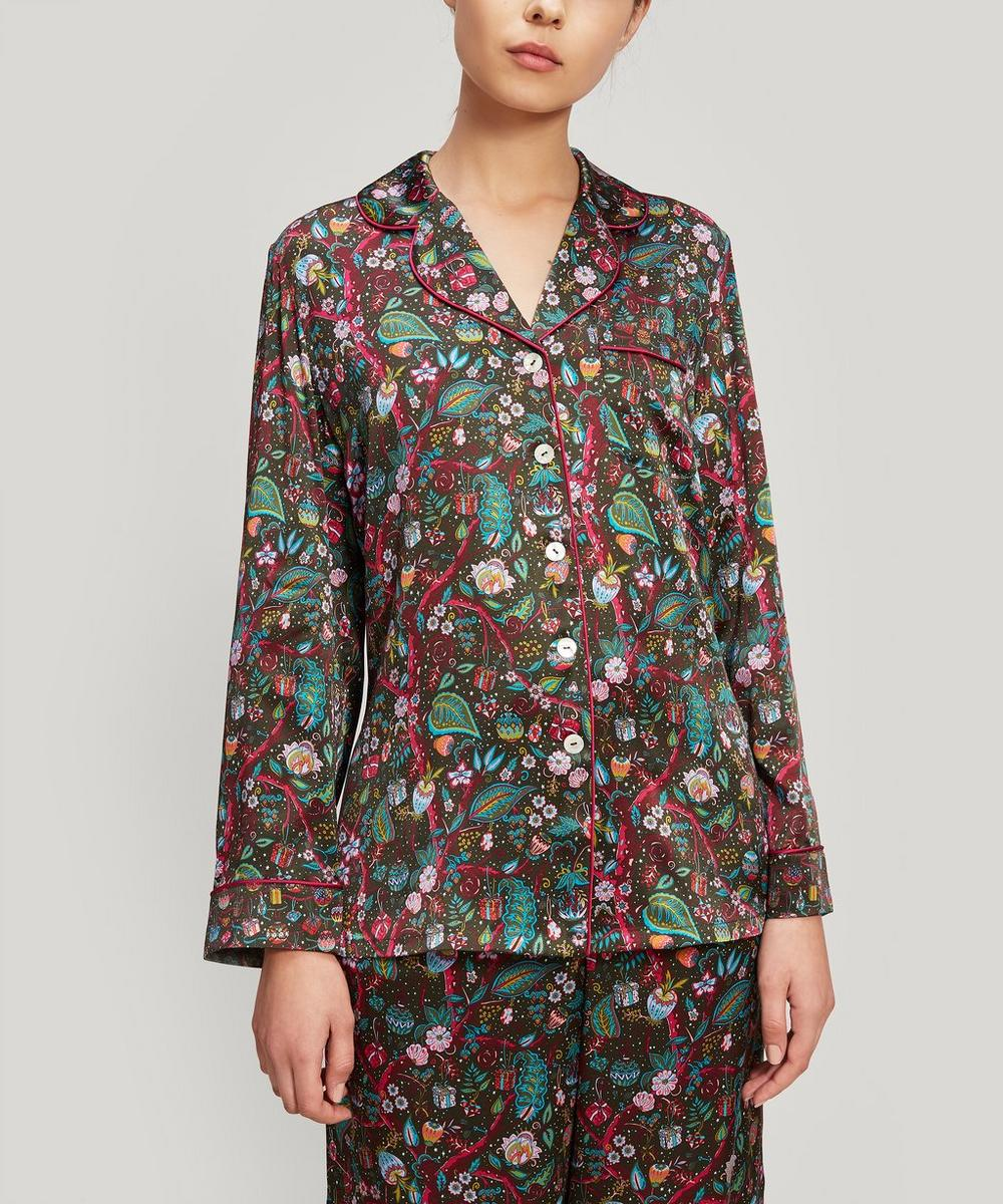 Liberty - Jeweltopia Silk Charmeuse Pyjama Set