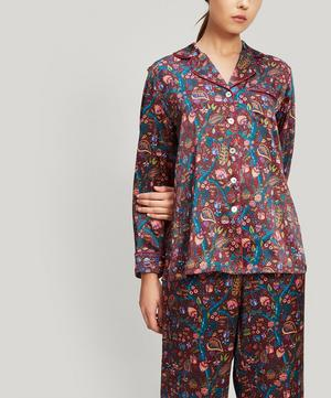 Jeweltopia Silk Charmeuse Pyjama Set