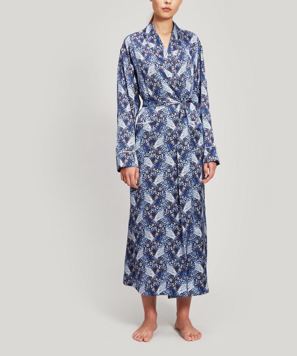 Liberty - Valentine Silk Charmeuse Robe