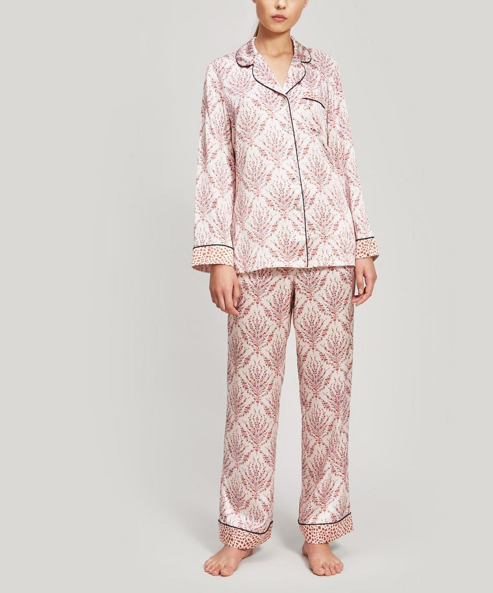 Liberty - Eluard and Bramham Silk Charmeuse Pyjama Set