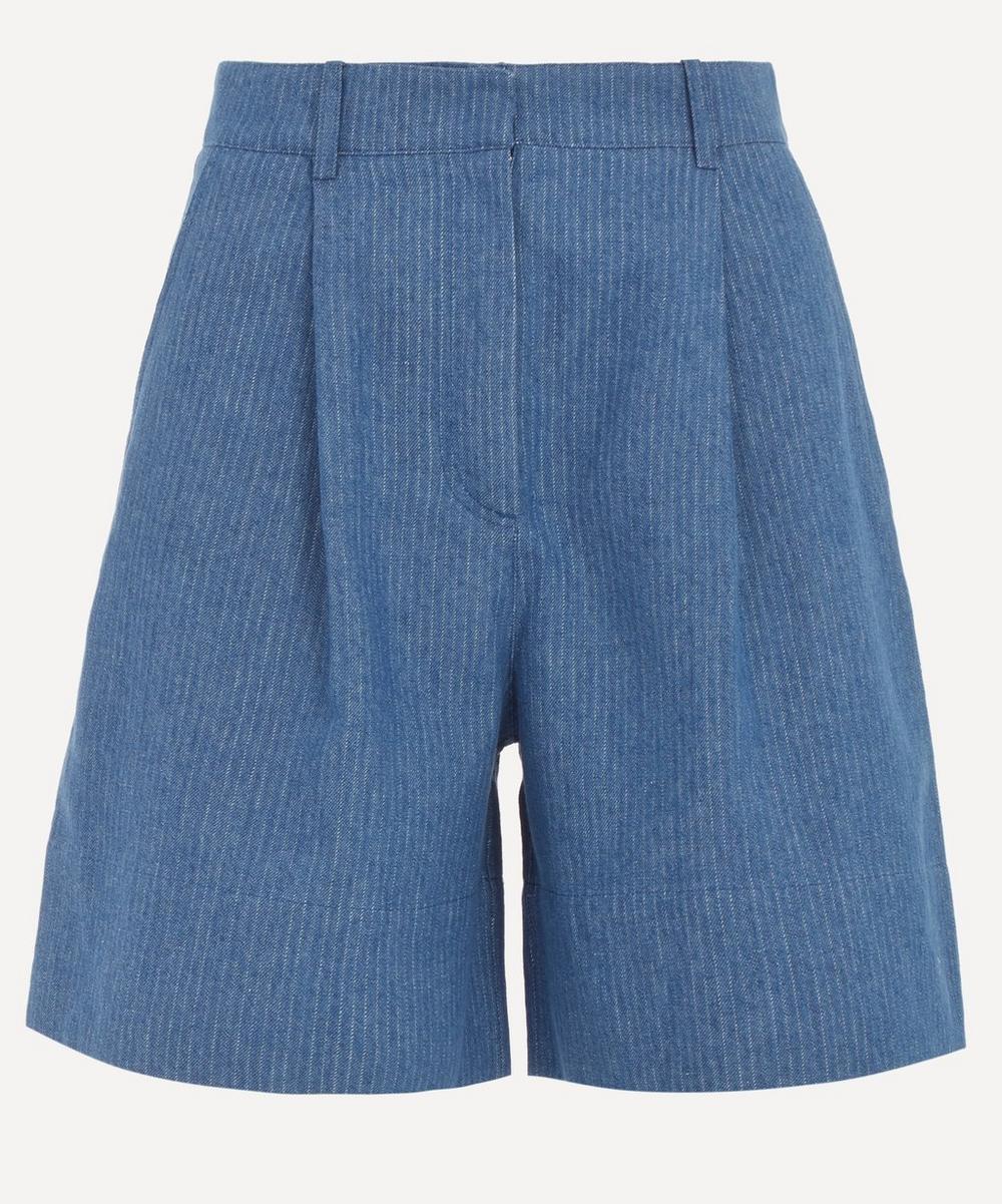 Sessùn - Albin High-Waist Bermuda Shorts