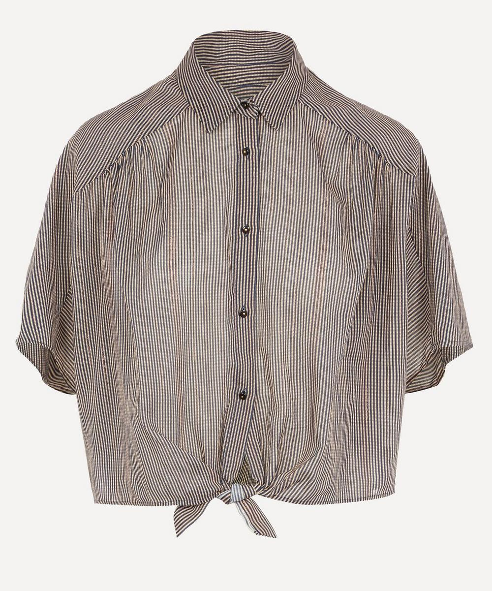 Sessùn - Junia Knotted Shirt