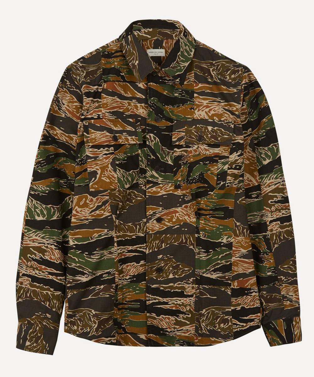 Dries Van Noten - Camouflage Shirt