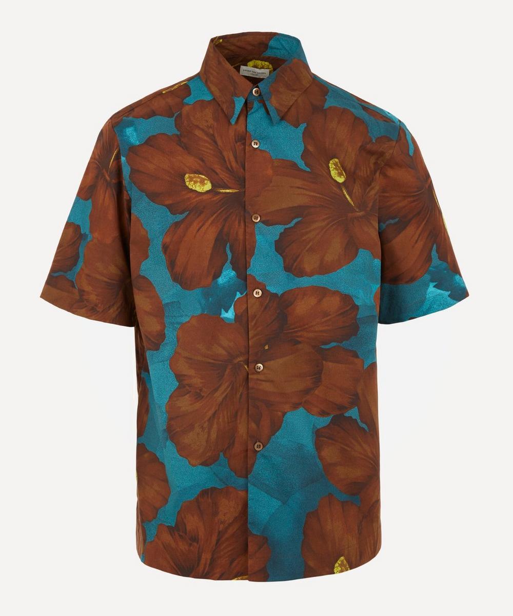 Dries Van Noten - Hibiscus Cotton Short-Sleeve Shirt