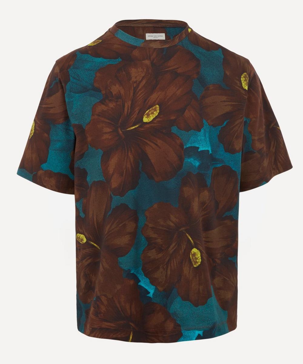 Dries Van Noten - Hibiscus Print T-Shirt