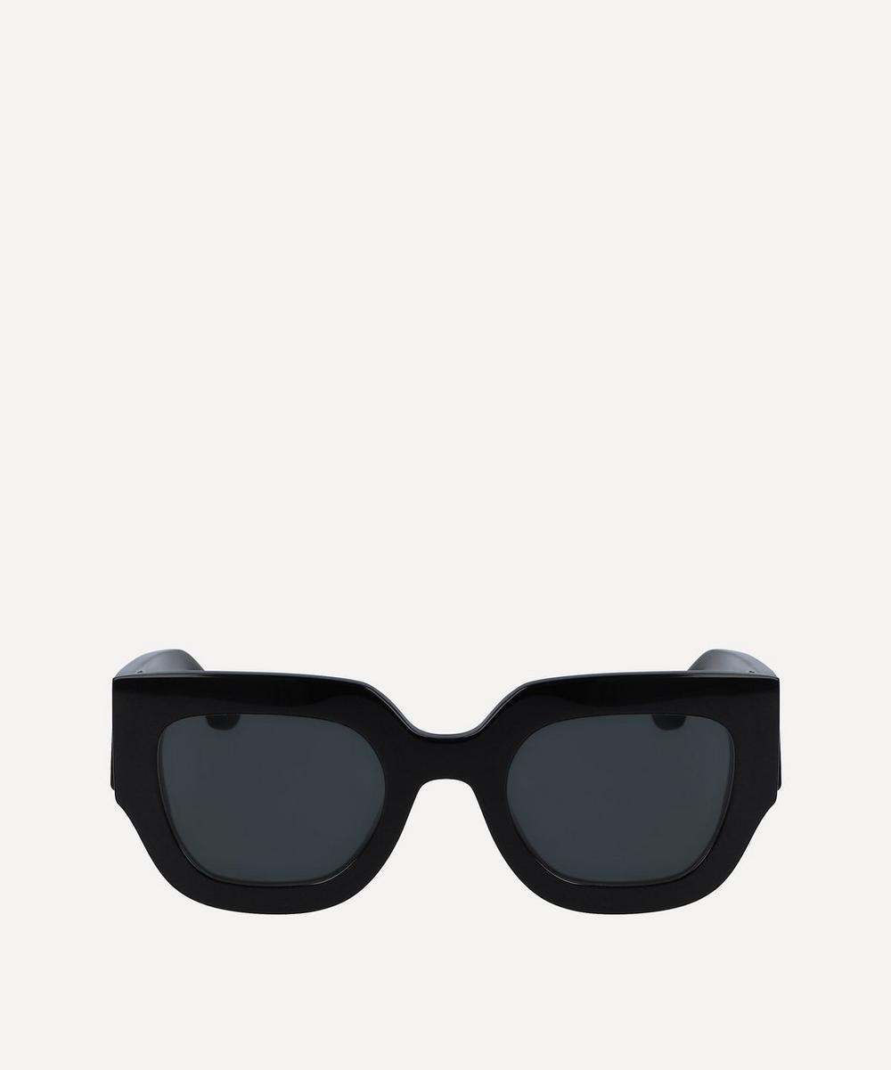 Victoria Beckham - Chunky Square-Frame Acetate Sunglasses