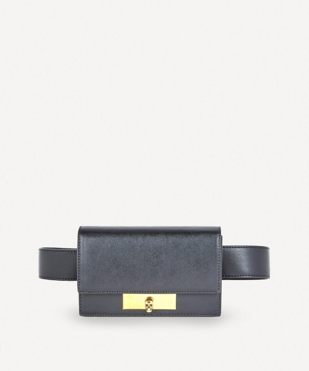 Alexander McQueen - Skull Lock Leather Belt Bag