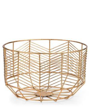 Medium Messing Brass Basket