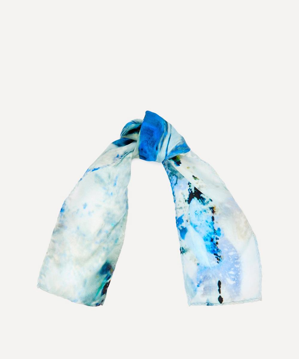 Weston - Ice Quartz Twilly Silk Scarf
