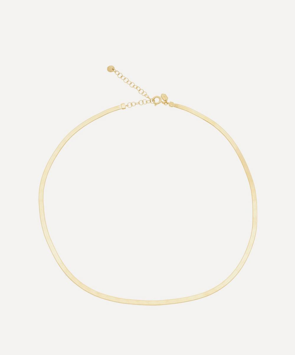 Maria Black - Gold-Plated Mio Chain Necklace