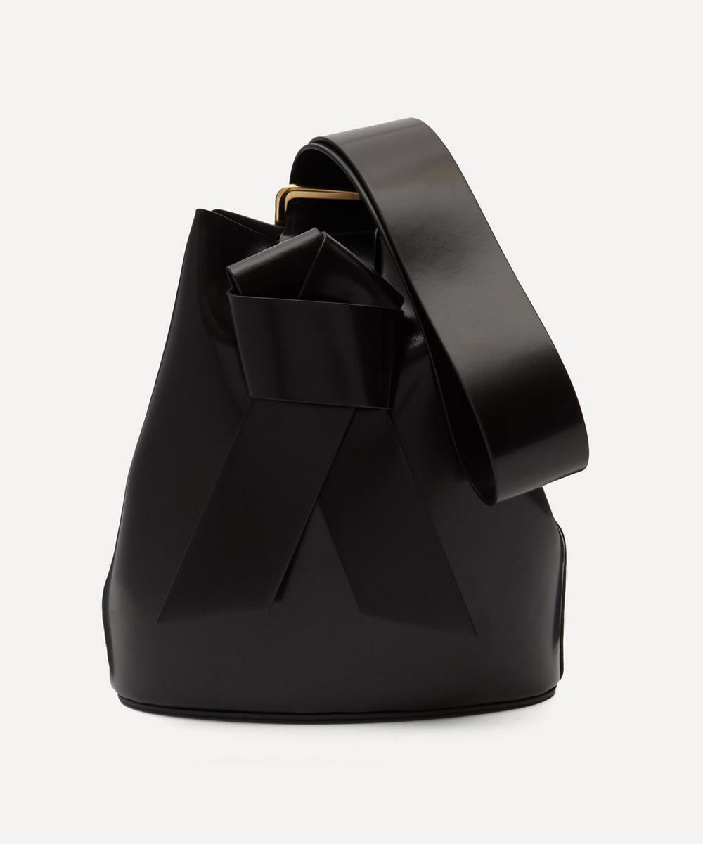 Acne Studios - Knotted Leather Bucket Bag