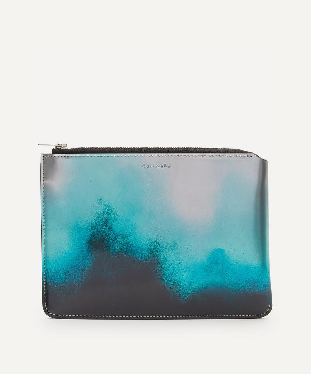 Acne Studios - Metallic Leather Document Holder