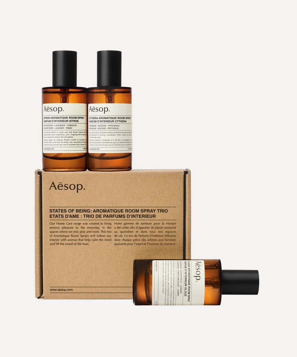 Aesop - States of Being Aromatique Room Spray Trio